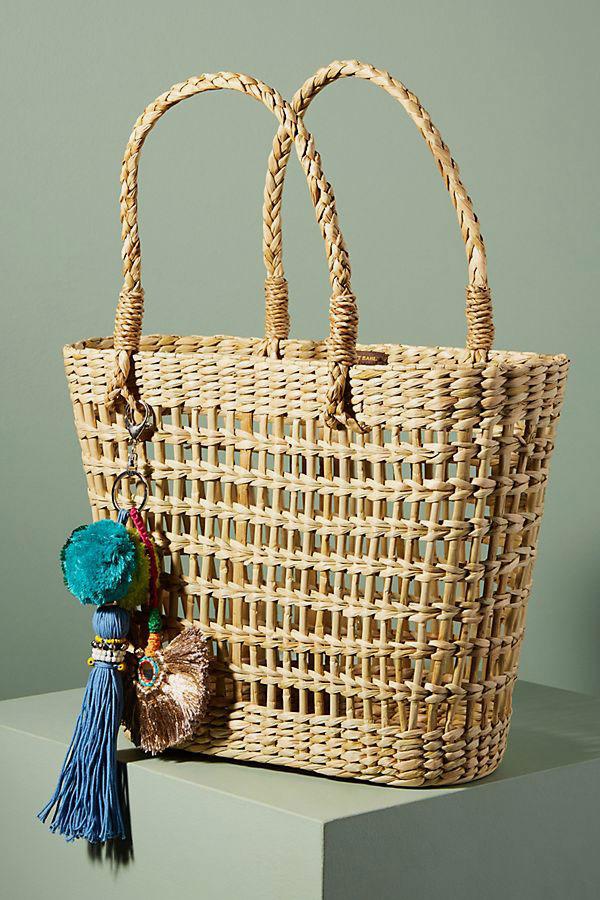 Vineet Bahl Gilia Straw Tote Bag