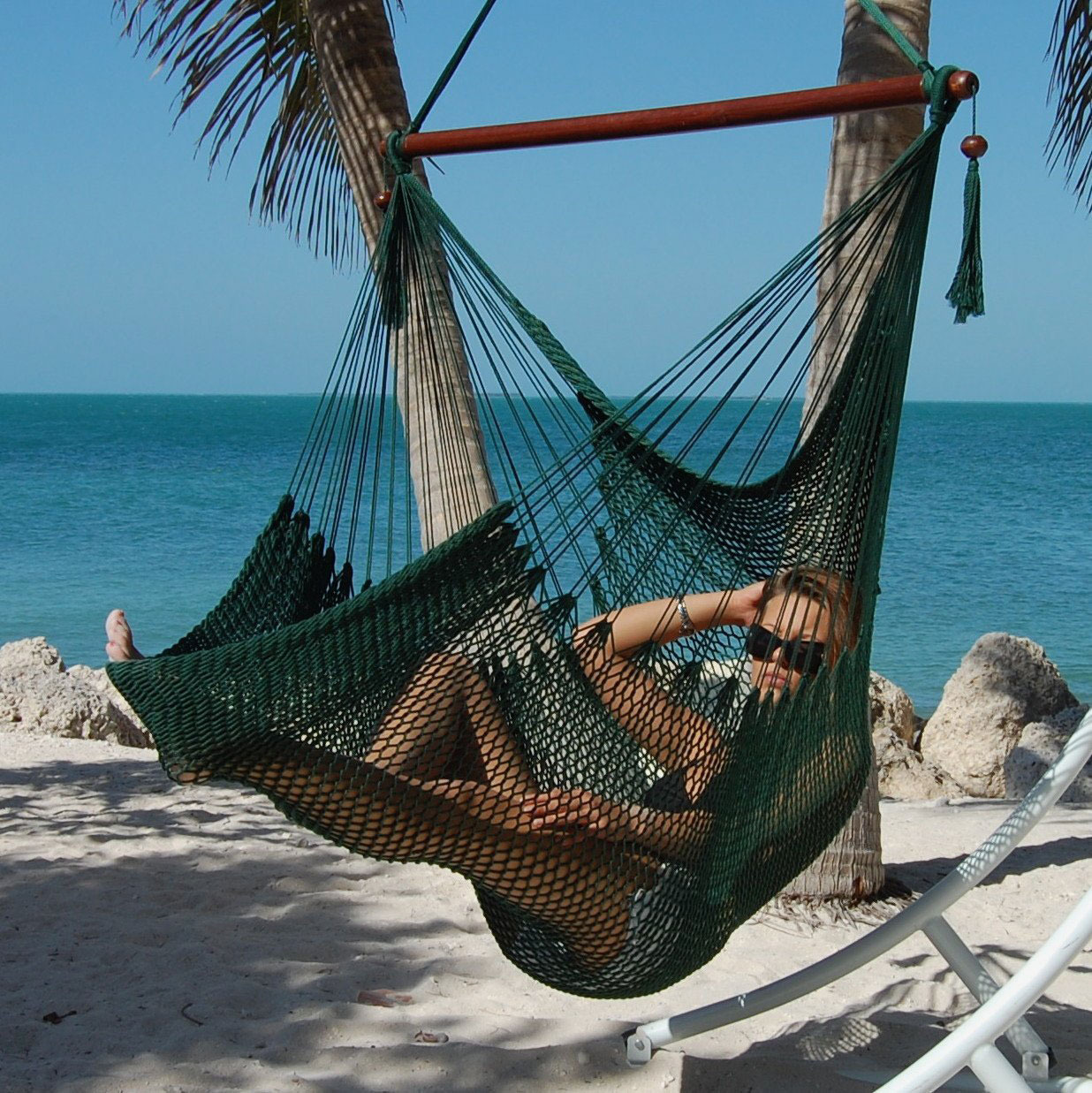 Caribbean Hammocks Large Caribbean Hammock Chair