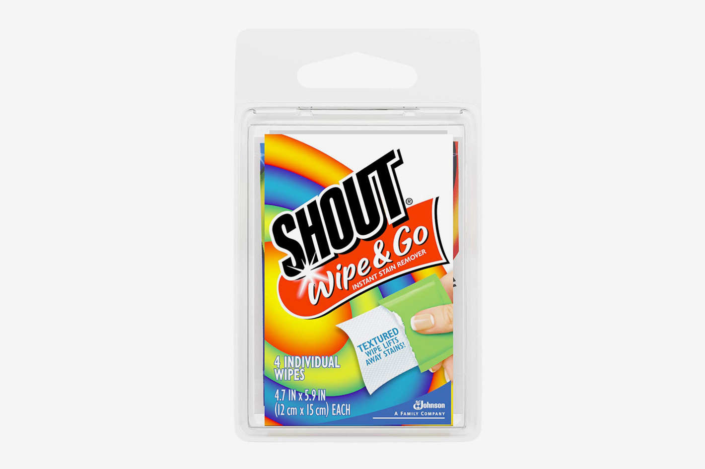 Shout Wipe & Go Wipes, 4 Count