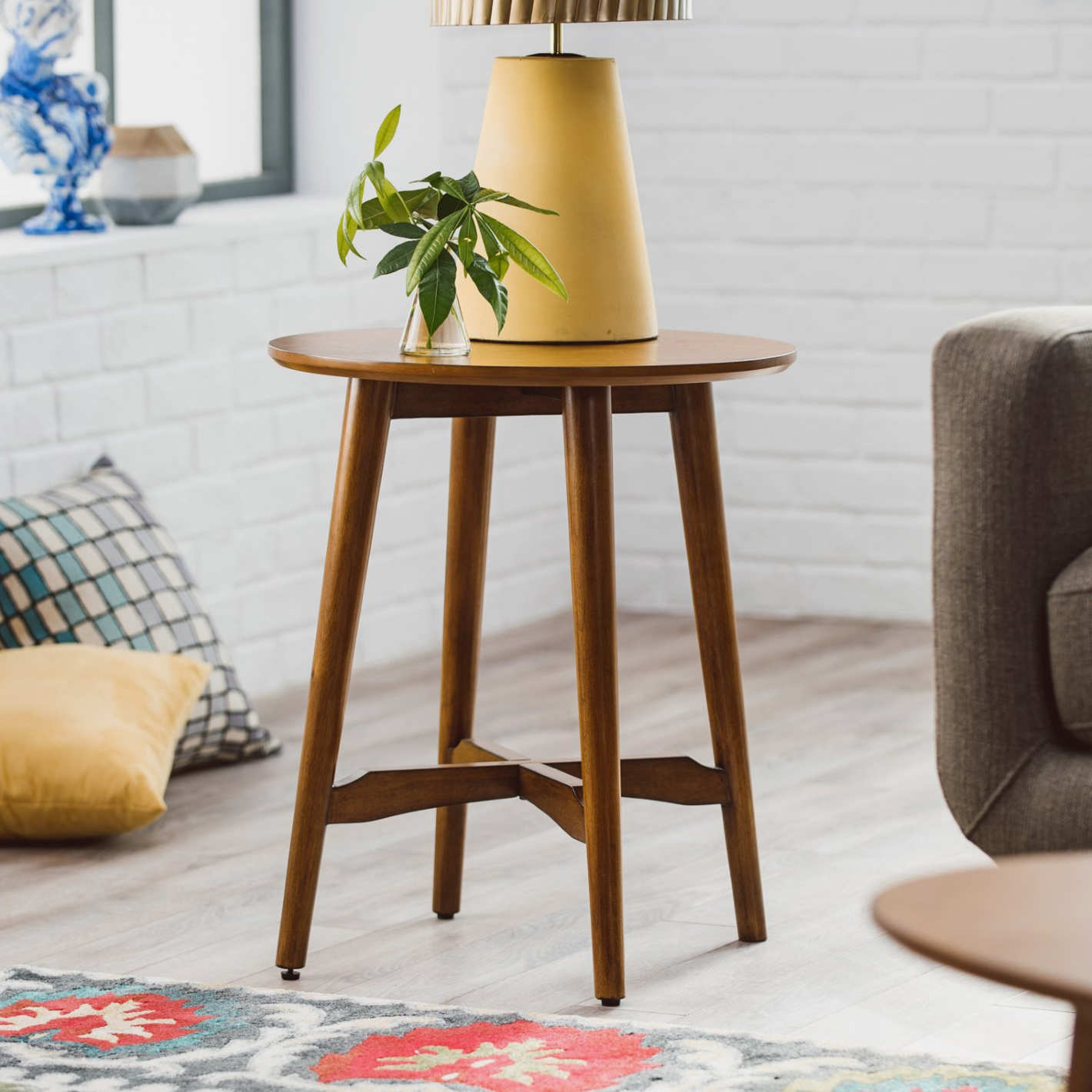 Belham Living Darby Mid Century Modern End Table