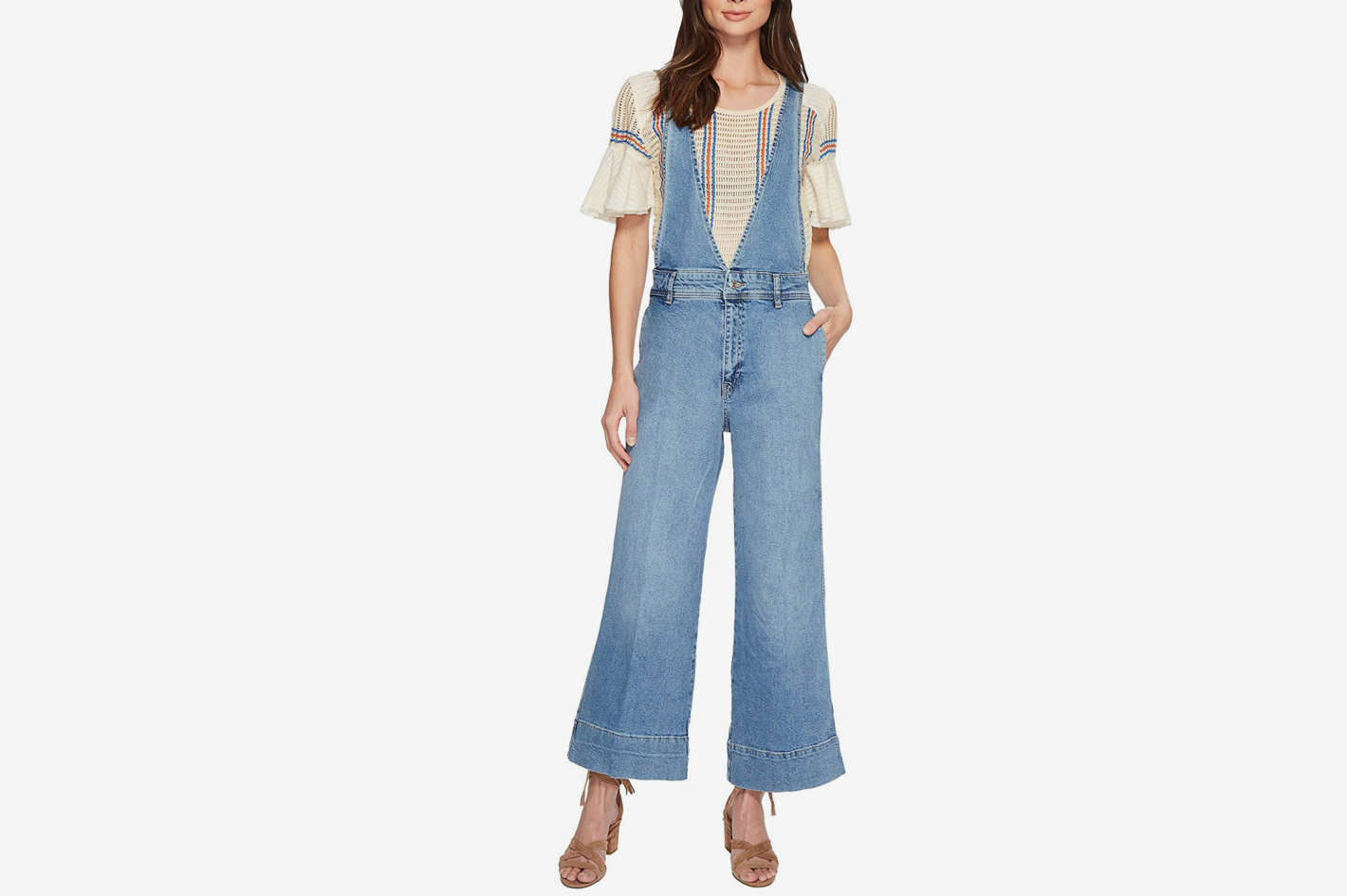 Free People A Line Overalls