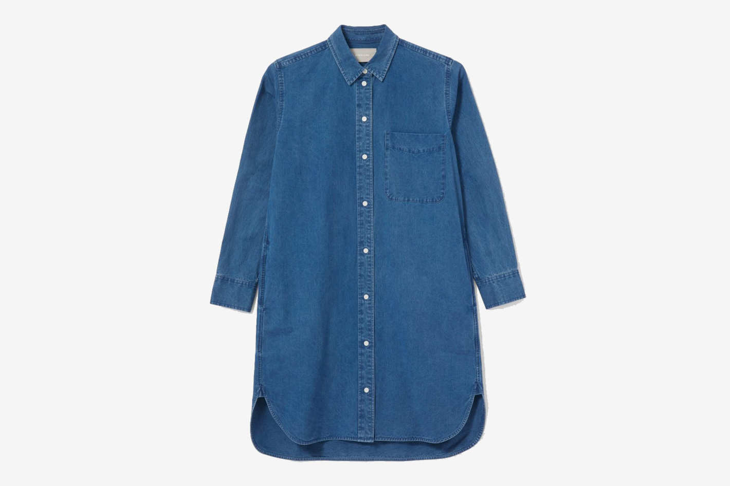 Everlane The Jean Shirtdress
