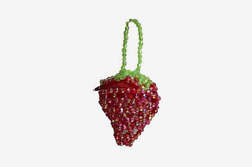 Susan Alexandra Strawberry Pouch