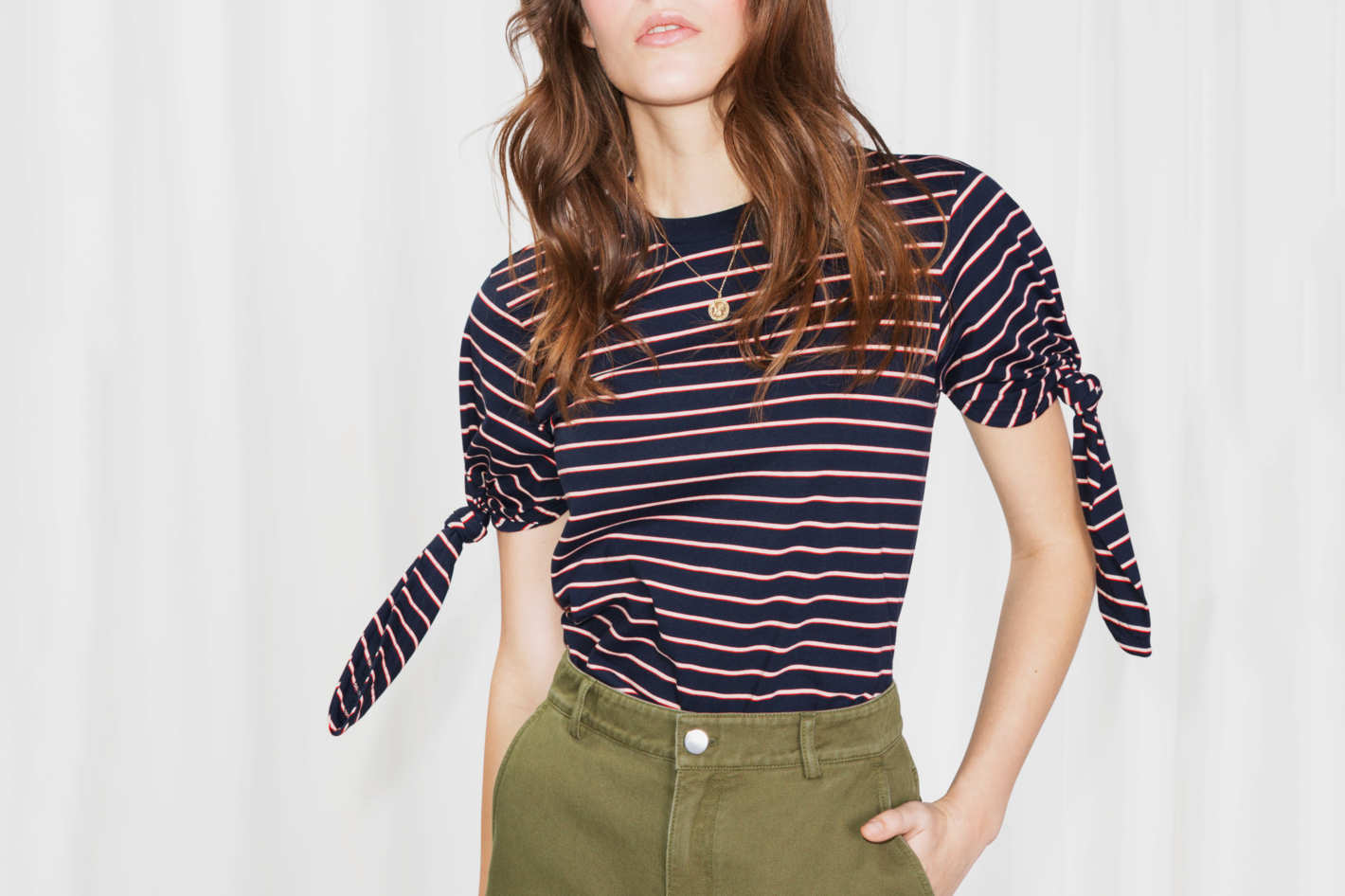 Striped Tie T-Shirt