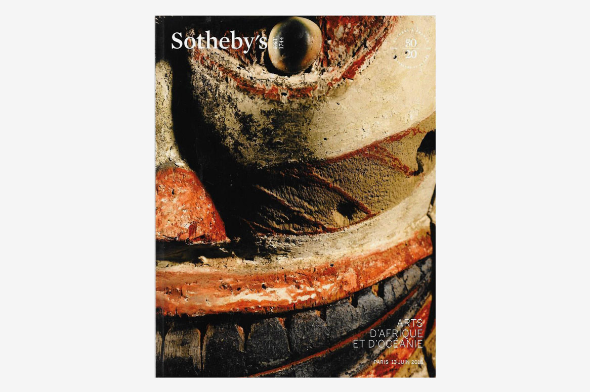 Sotheby's African Tribal D'Afrique Et D'Océanie Paris Auction Catalog