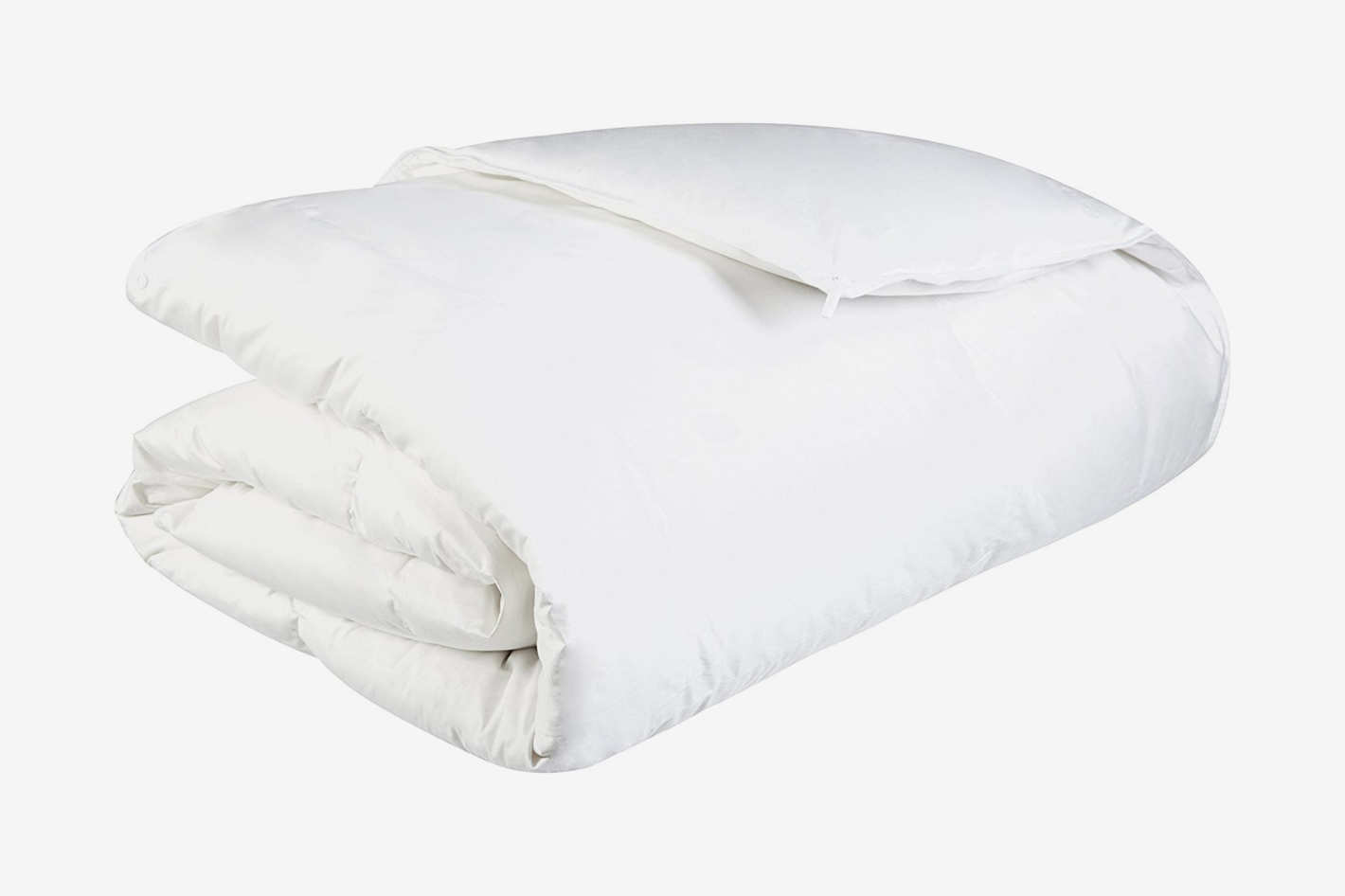 Pinzon Lightweight Shed-Resistant White Down Comforter - Full/Queen