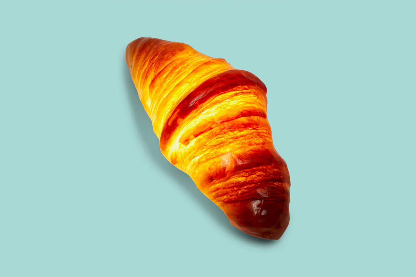 Pampshade Croissant Lamp