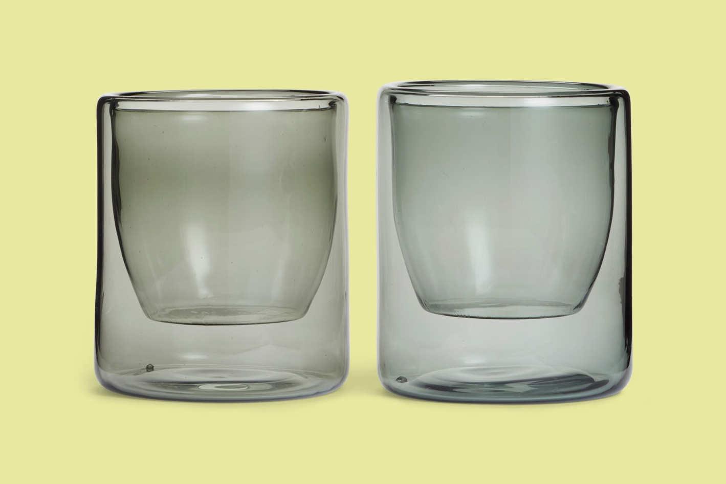 Yield Set of 2 Double-Wall Borosilicate Glasses