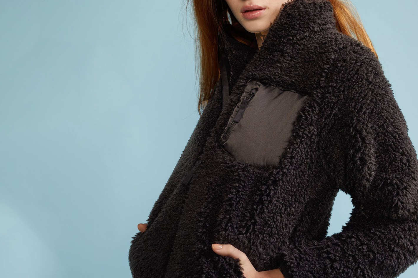 Cynthia Rowley Fleece Jacket