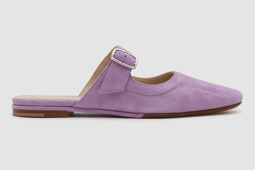 Creatures of Comfort Lucca Slide in Lilac