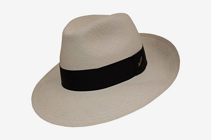 56dba41d528 Borsalino Wide Brim Panama Fedora at Amazon