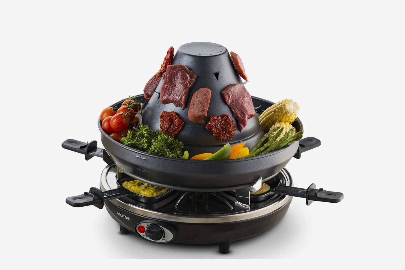 Gourmia GEG1400 Electric Raclette — Table-Top Party Grill