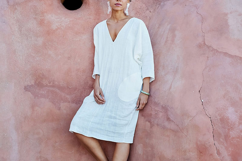 Long Sleeve Dolman Dress