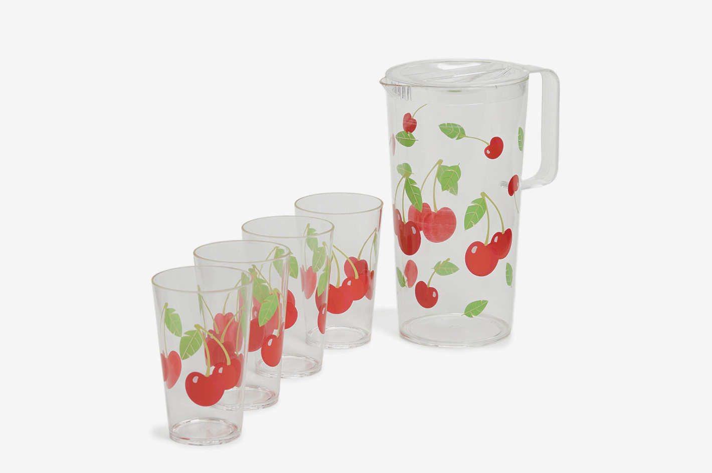 SunnyLife Cherry Party Drinkware Set