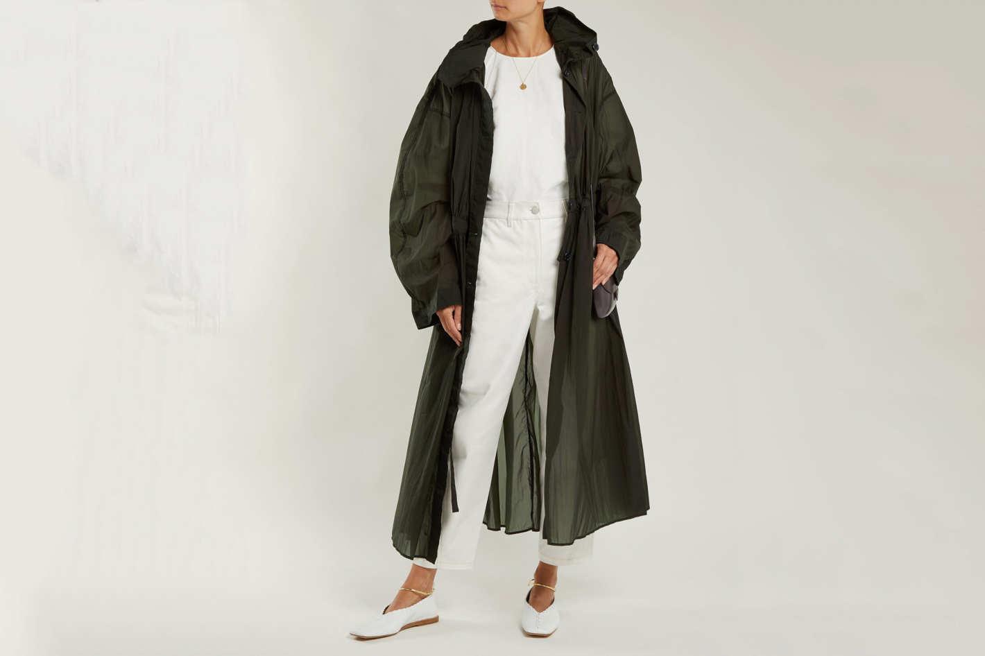 Lemaire Hooded Parachute Parka Coat