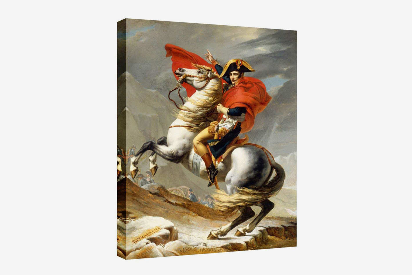 "Wall26 Printed Canvas ""Napoleon Crossing the Alps"""