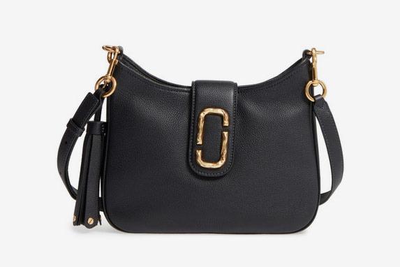 Marc Jacobs Small Interlock Leather Hobo