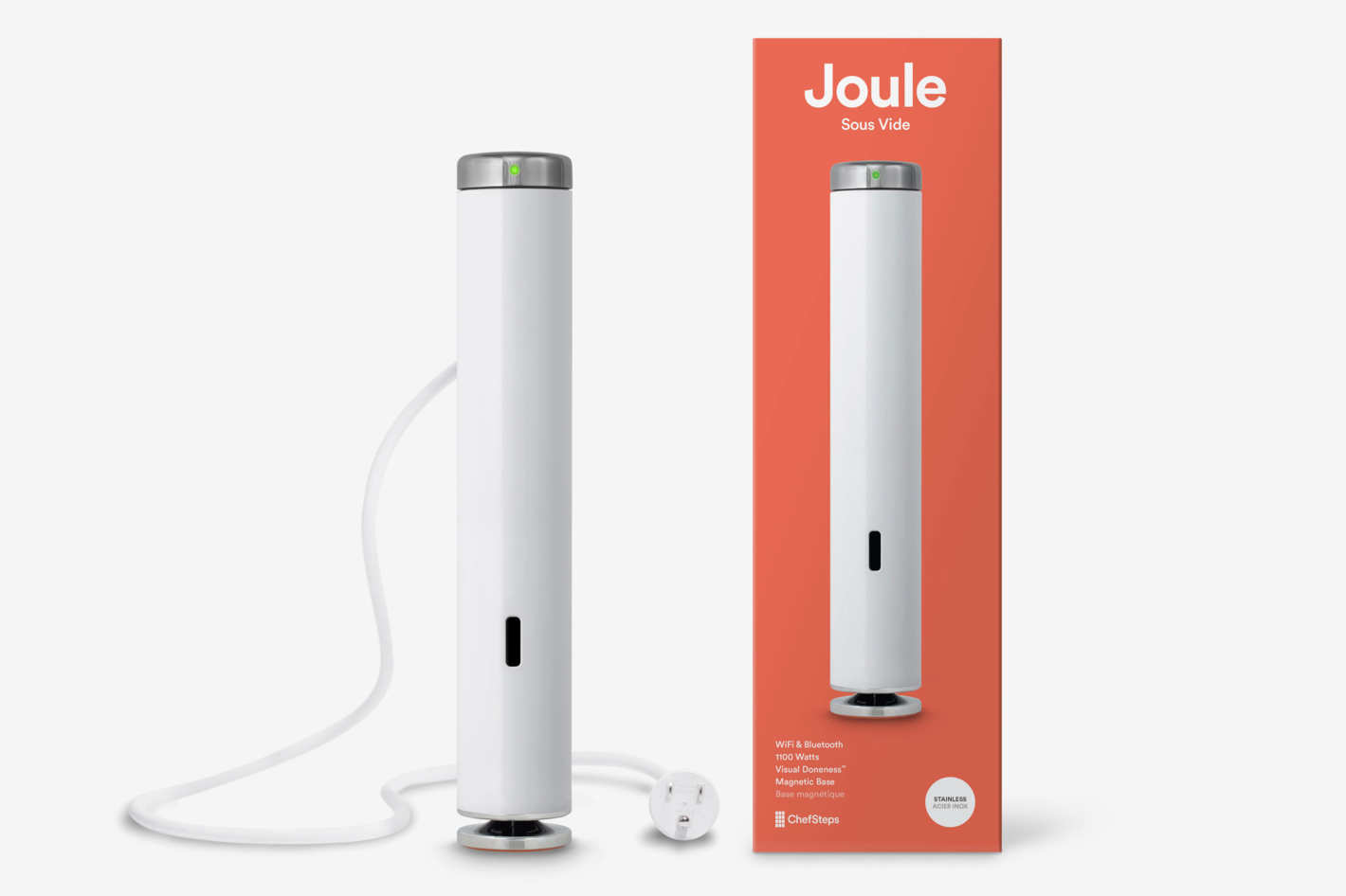ChefSteps Joule Sous Vide, Stainless Steel Cap and Base