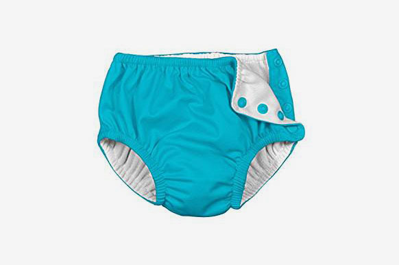 I Play Baby & Toddler Snap Reusable Absorbent Swim Diaper