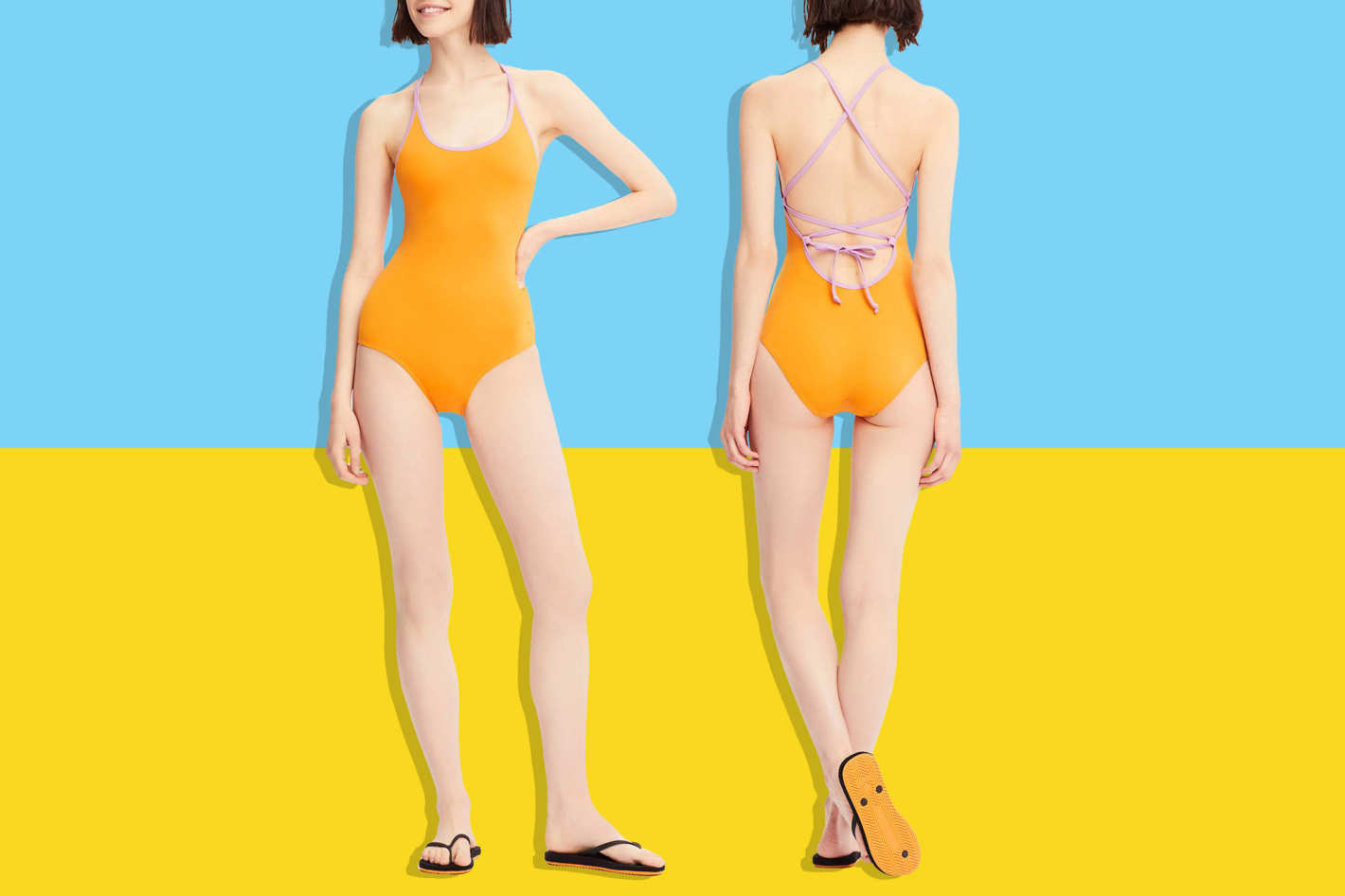 Uniqlo Women's One-Piece Swimsuit
