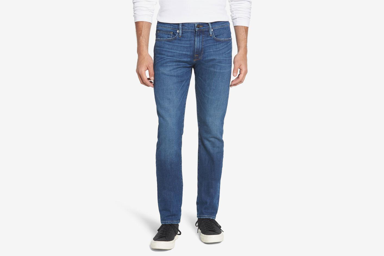 Frame L'Homme Slim Straight Leg Jeans