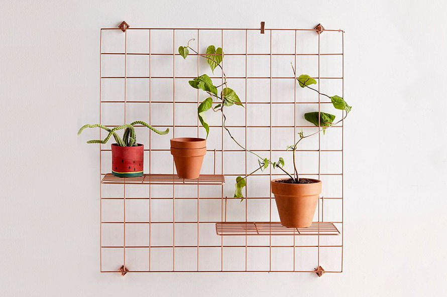Wire Wall Square Grid