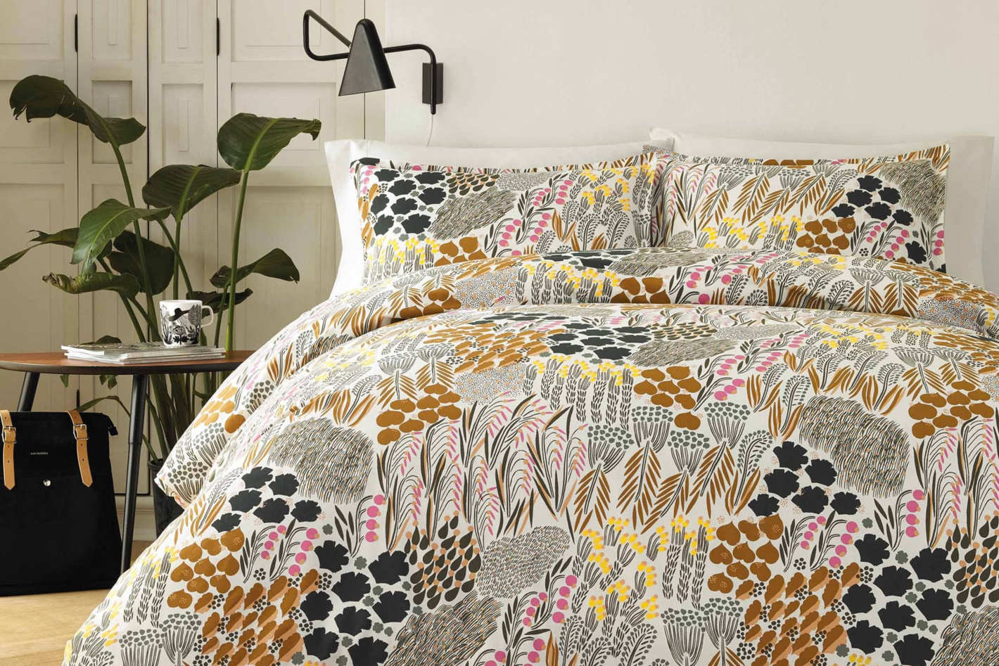 Marimekko Pieni Letto Comforter & Sham Set, Full/Queen