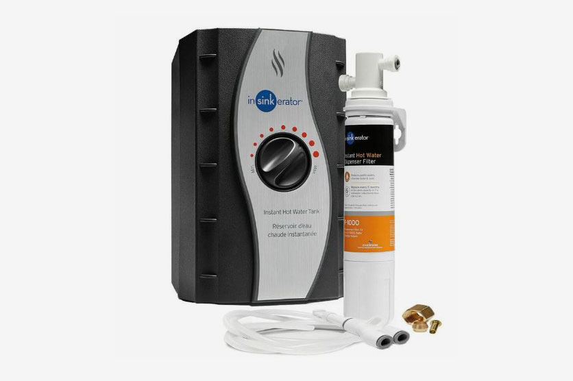 InSinkErator HWT-F1000S Stainless Steel Instant Hot Water Tank and Filtration System
