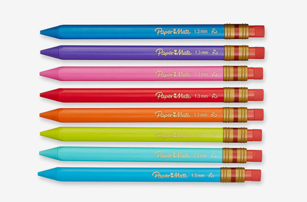 Paper Mate Mates 1.3mm Mechanical Pencils, 8-Count