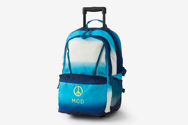 Lands' End ClassMate Large Wheeled Backpack