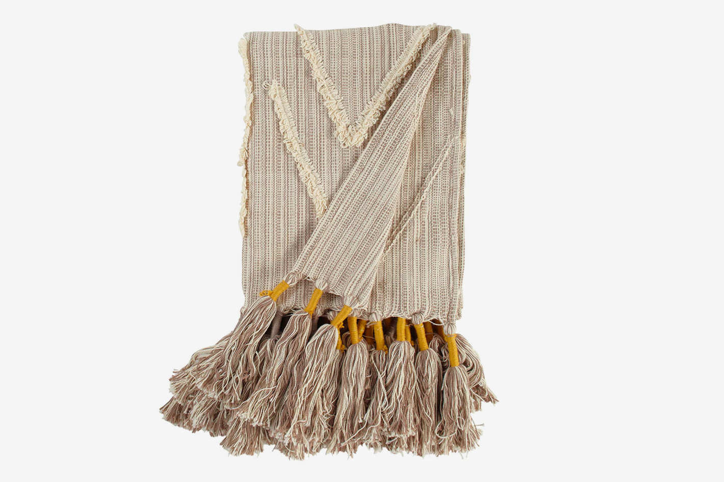 Stone & Beam Global Throw With Tassels