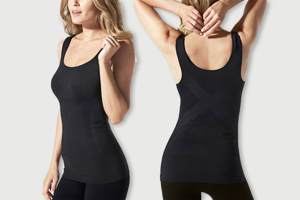 Blanqi Pull-Down Postpartum + Nursing Support Tanktop