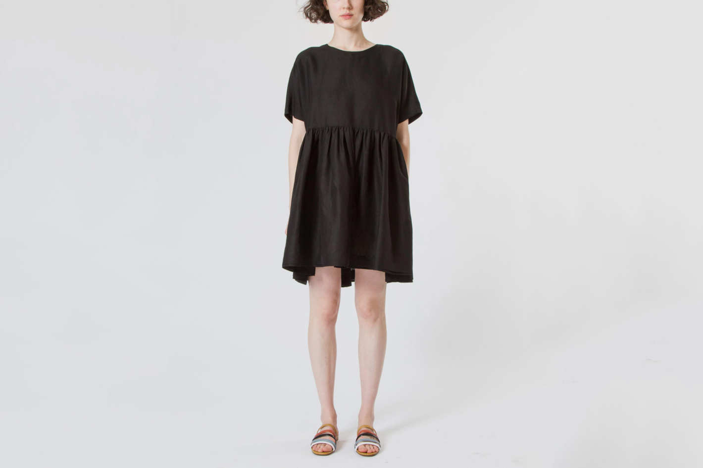 Creatures of Comfort Rhys Dress Silk Linen