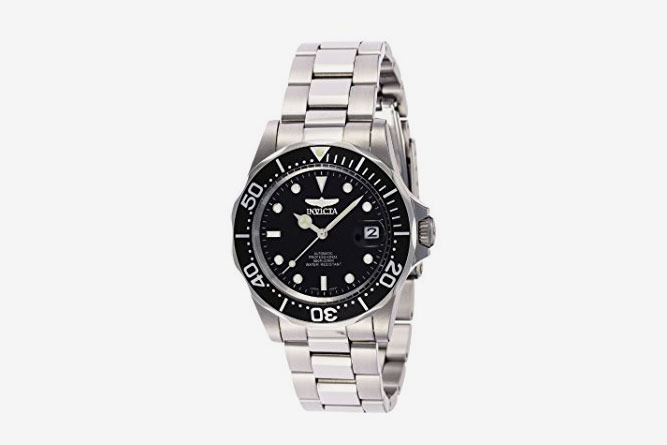 7159ead1eb1 Invicta Men s Pro Diver Collection Silver-Tone Watch