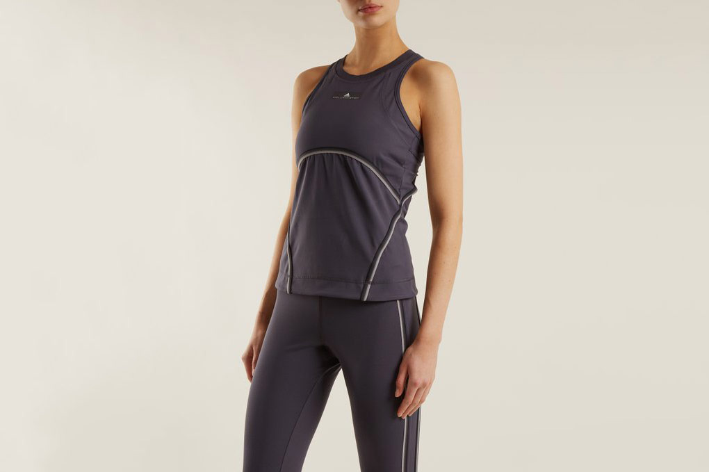 Adidas by Stella McCartney Cut-Out Performance Tank Top