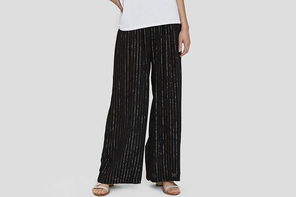Farrow Camila Metallic Stripe Pant