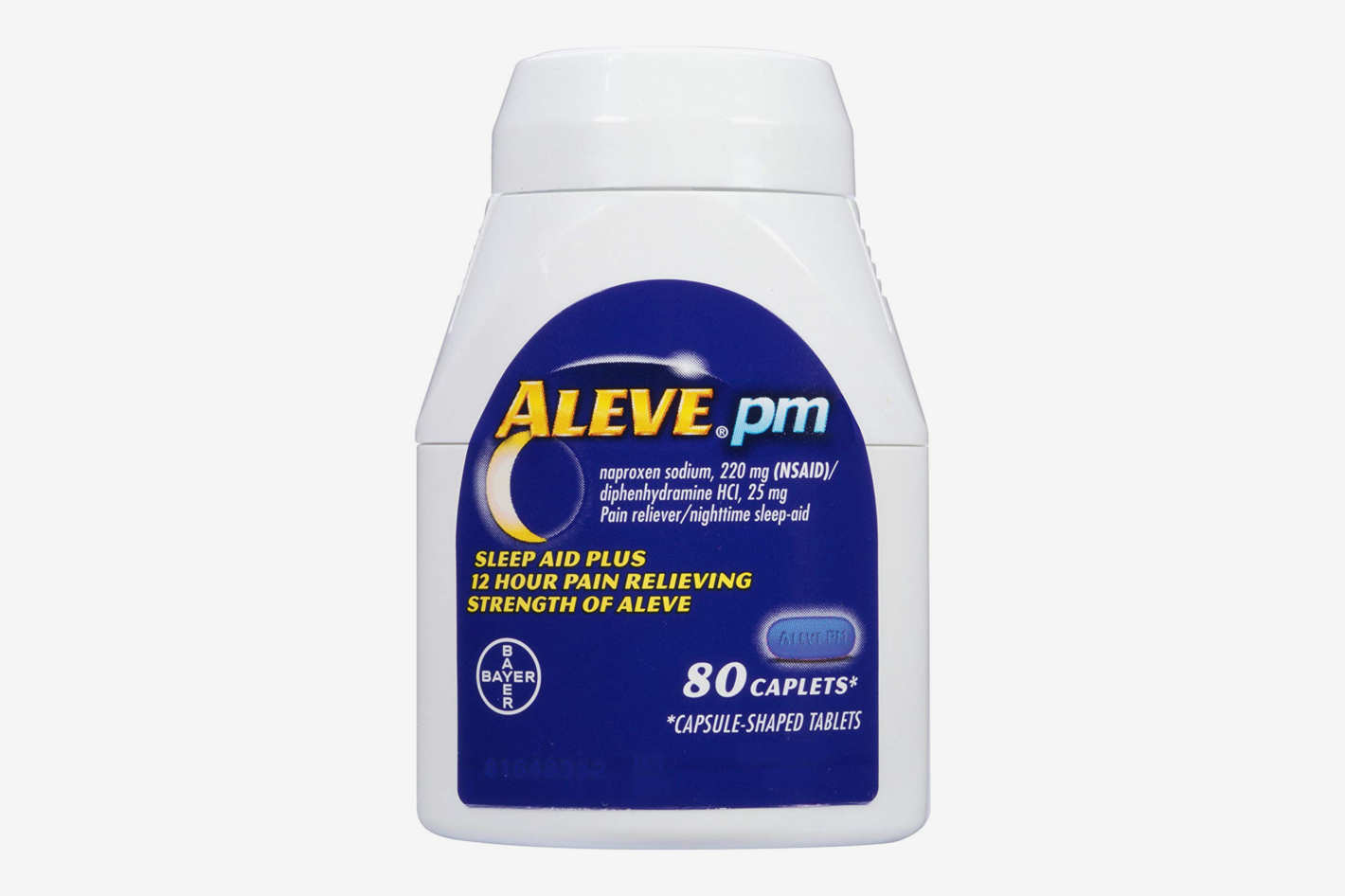 Aleve PM Caplets with Naproxen Sodium, 80 count