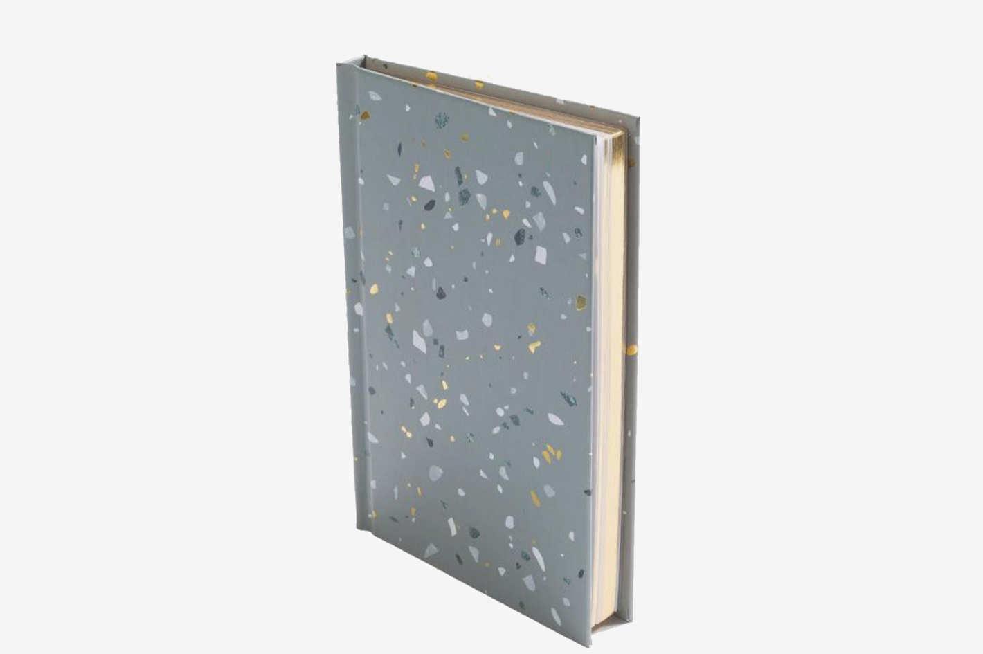 Poketo Terrazzo Notebook in Gray