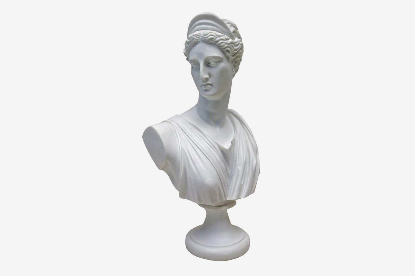 Design Toscano Diana of Versailles Marble Resin Sculptural Bust
