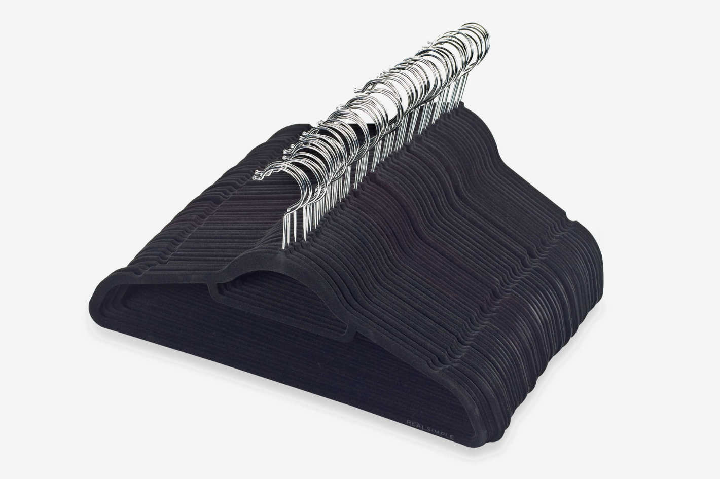 Real Simple Slimline 50-Count Flocked Suit Hangers