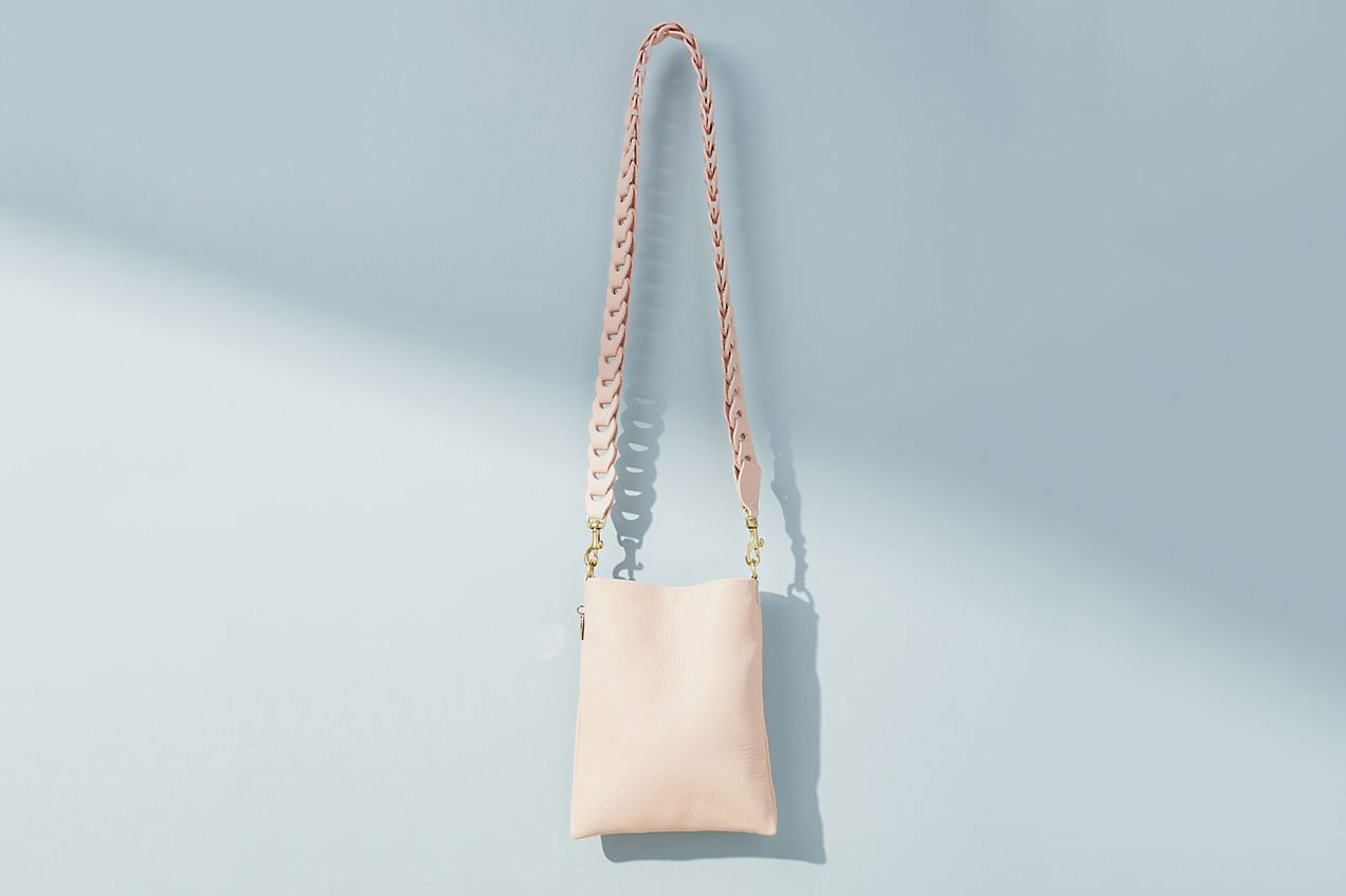 Clare V. Lauren Structured Crossbody Bag