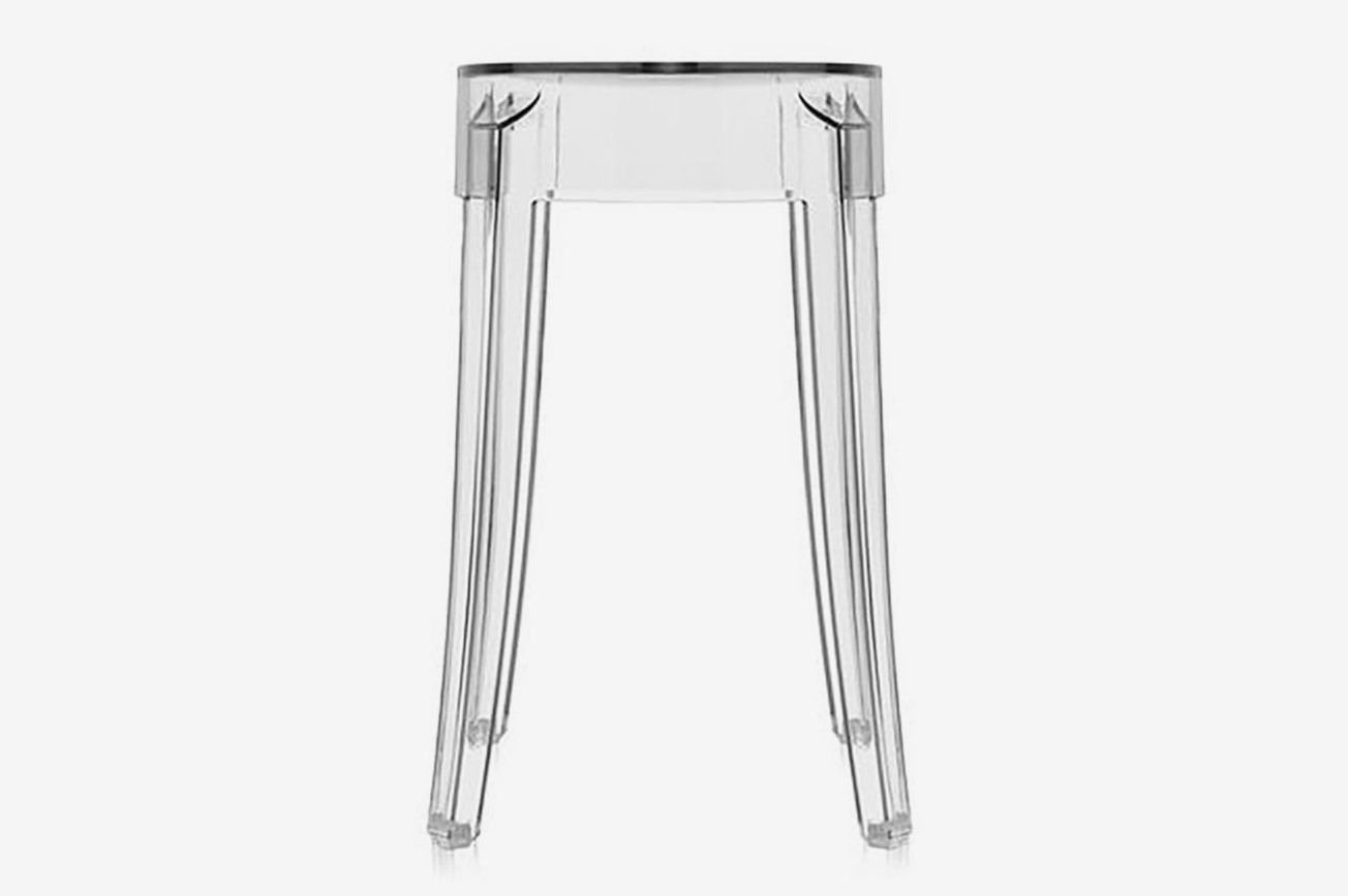 Kartell Two-Piece Charles Ghost Stool Set