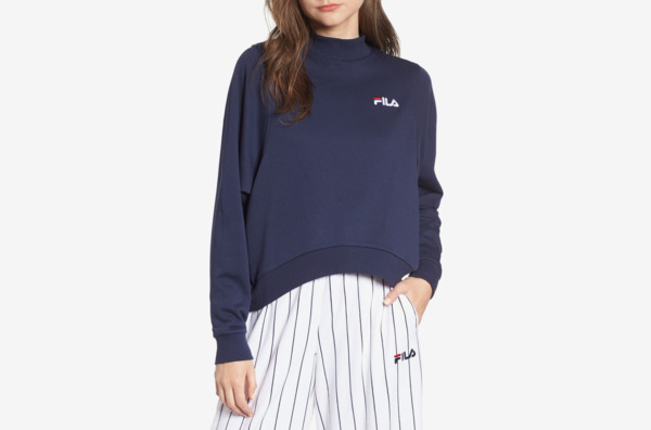 Fila Summer Mock Neck Sweatshirt