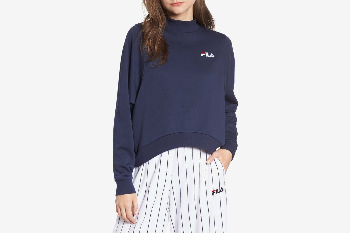 Fila Summer Mock Neck Sweatshirt