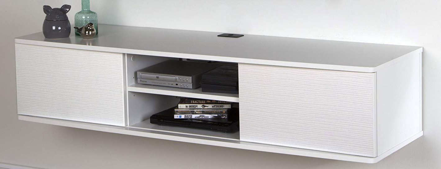 South Shore Floating Wall-Mounted Media Console