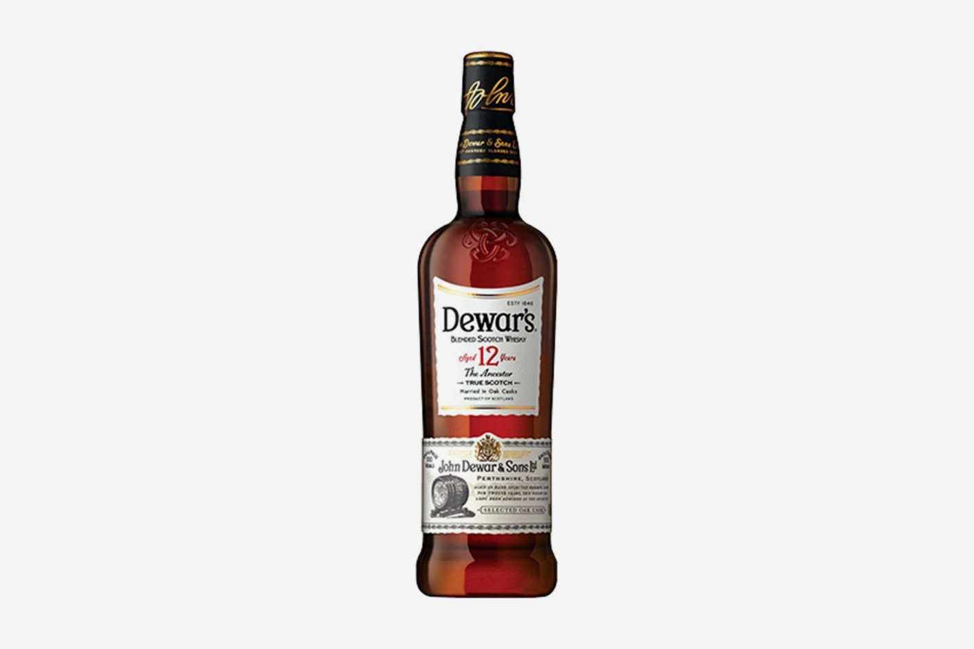 Dewar's 12 Year-Old Blended Scotch Whiskey
