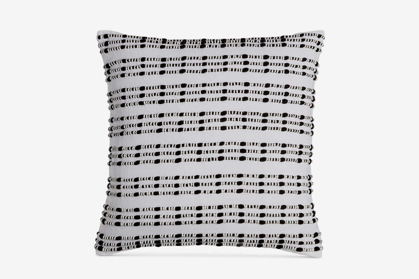 "Hotel Collection Linen Plaid 18"" Square Decorative Pillow"