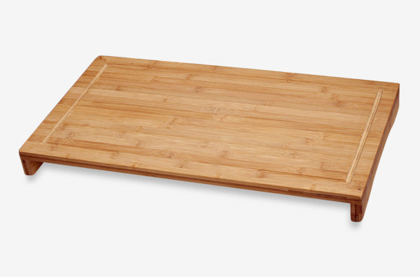 Over the Sink/Stove Large Bamboo Cutting Board