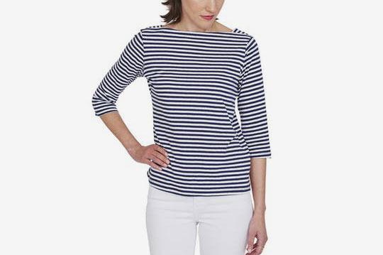 MDS Stripes Charlotte Boatneck