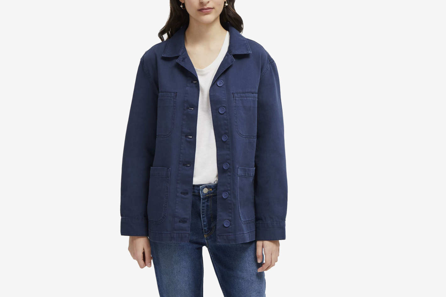 French Connection Perret Utility Slouchy Workwear Jacket